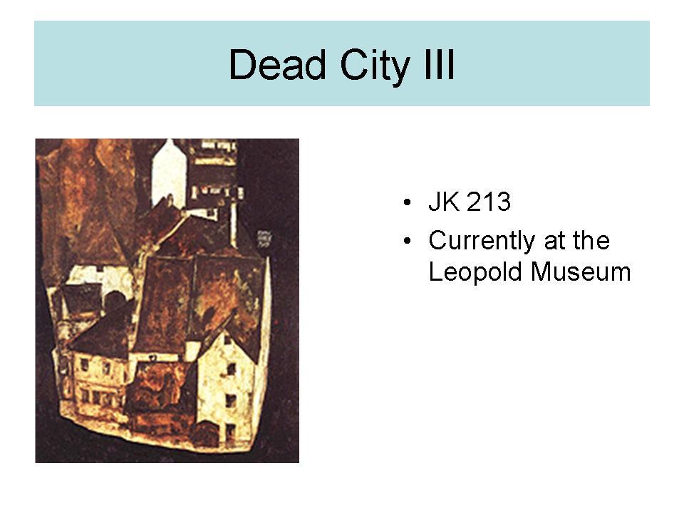 Dead city 3