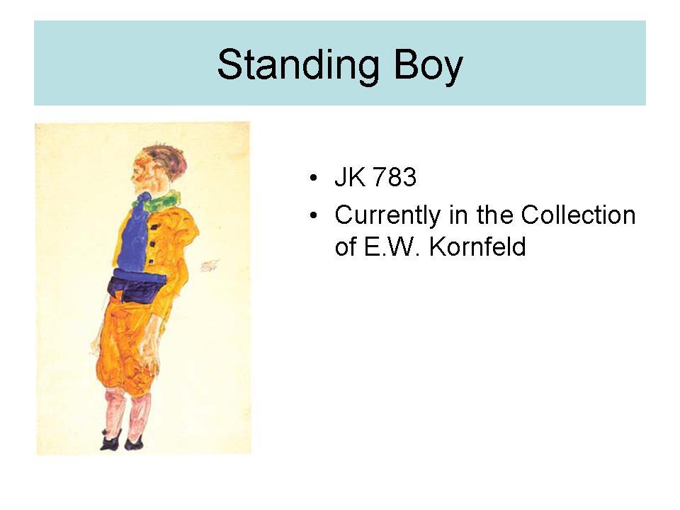 Standing boy