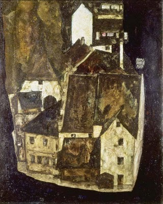 Egon Schiele Dead City III